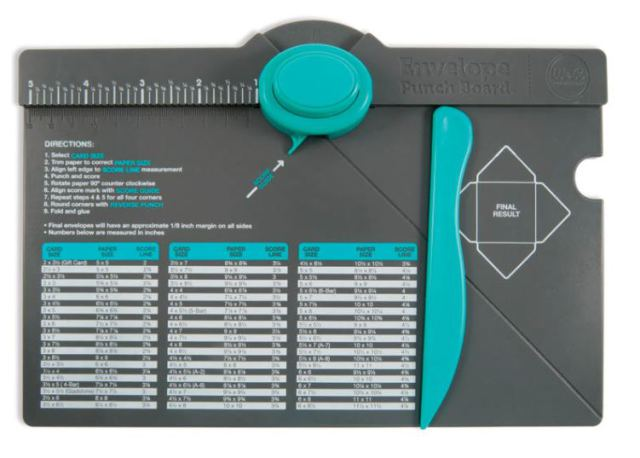envelope-punch-board