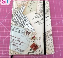 Encuaderna tu libreta con tela- scrapeatodo.com