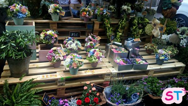 Taller en el Flower Market de Madrid